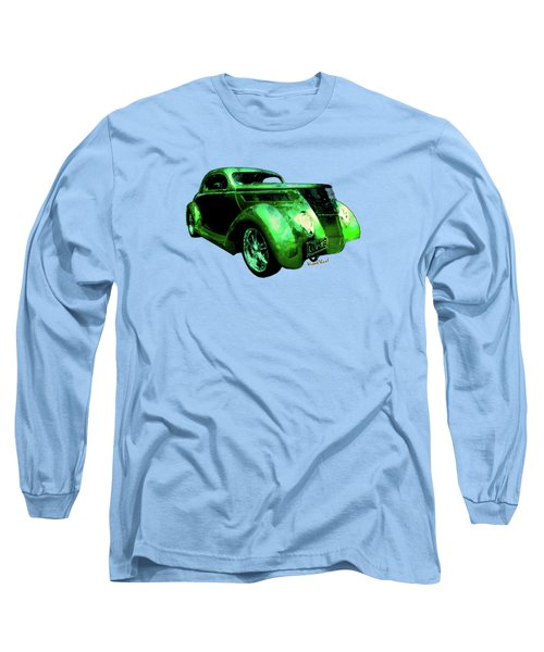 37 Ford Street Rod Luv Me Green Meanie Long Sleeve T-Shirt