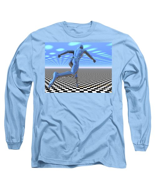 3d Runner Long Sleeve T-Shirt