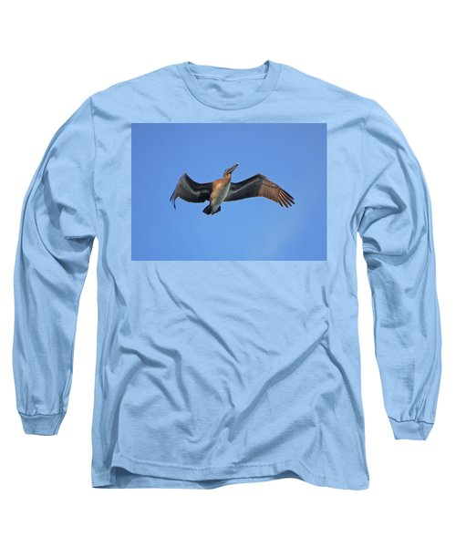 Long Sleeve T-Shirt featuring the photograph 4- Pelican by Joseph Keane