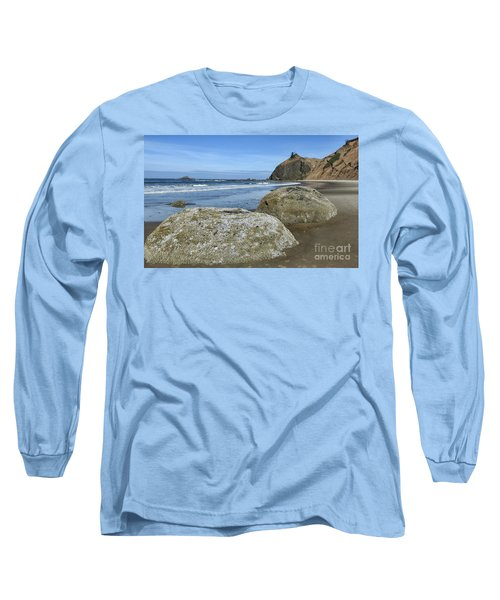 Long Sleeve T-Shirt featuring the photograph Roads End by Peggy Hughes