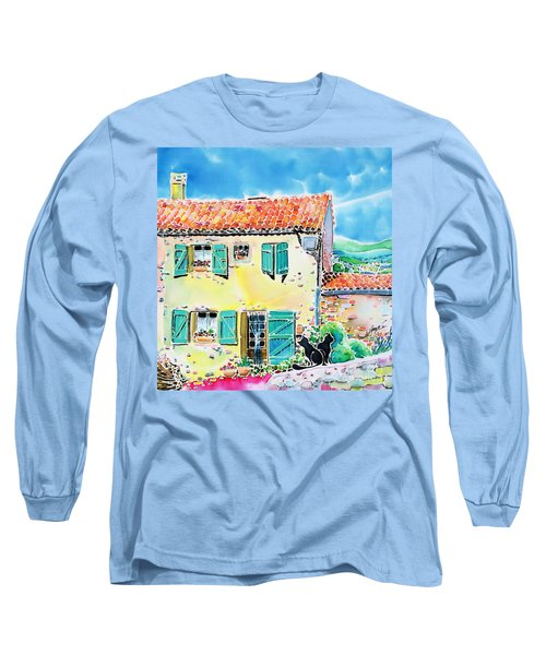 View Of Luberon Long Sleeve T-Shirt