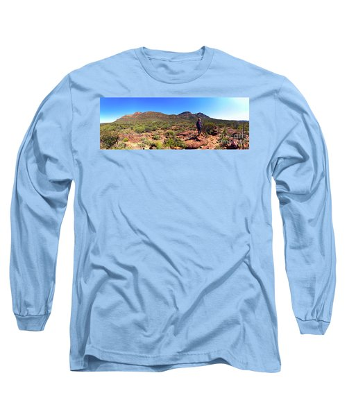 Long Sleeve T-Shirt featuring the photograph Wilpena Pound by Bill Robinson