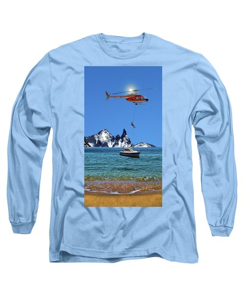 Long Sleeve T-Shirt featuring the photograph 4372 by Peter Holme III