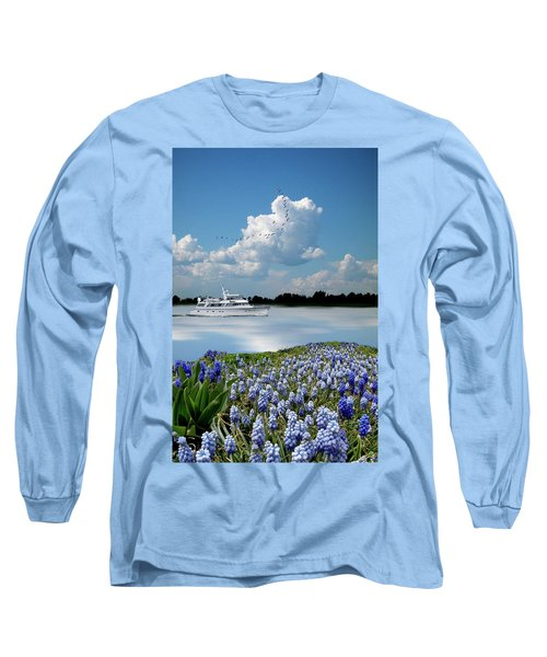 Long Sleeve T-Shirt featuring the photograph 4464 by Peter Holme III