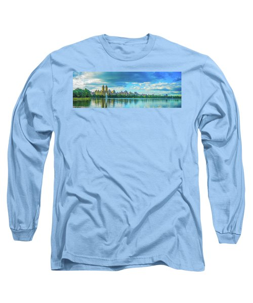 Long Sleeve T-Shirt featuring the photograph Central Park by Theodore Jones