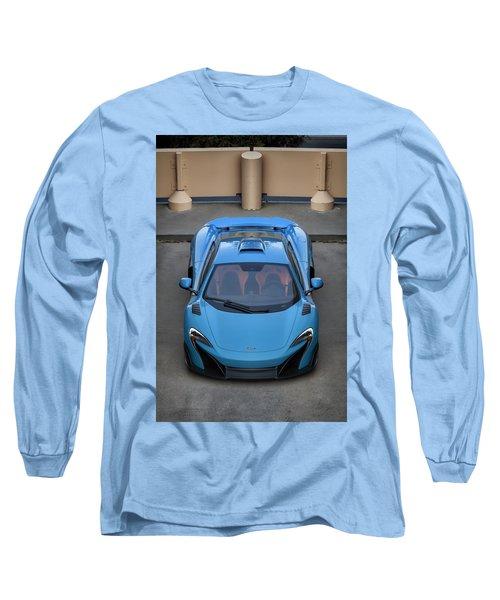 #mclaren #675lt #print Long Sleeve T-Shirt
