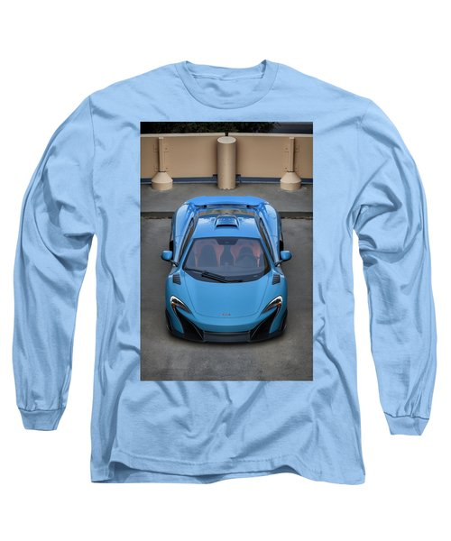 #mclaren #675lt #print Long Sleeve T-Shirt