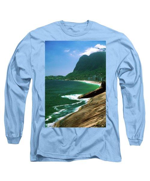 Rio De Janeiro Brazil Long Sleeve T-Shirt by Utah Images