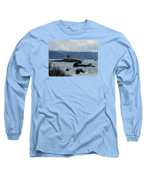 Winter White Long Sleeve T-Shirt by Marilyn Diaz