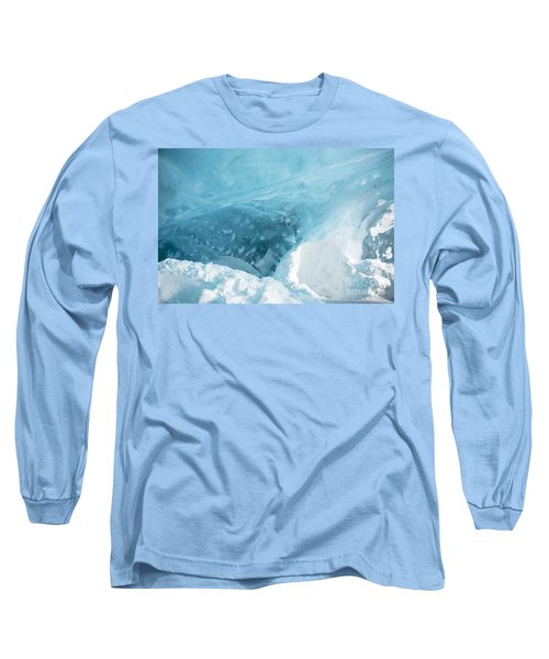 Long Sleeve T-Shirt featuring the photograph Iceland by Milena Boeva