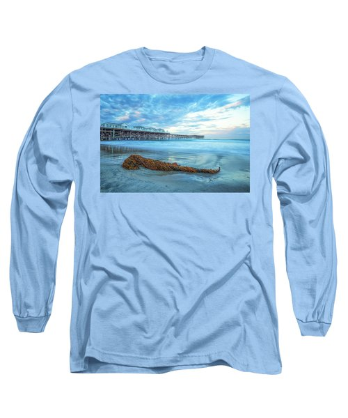A Crystal Morning Long Sleeve T-Shirt by Joseph S Giacalone