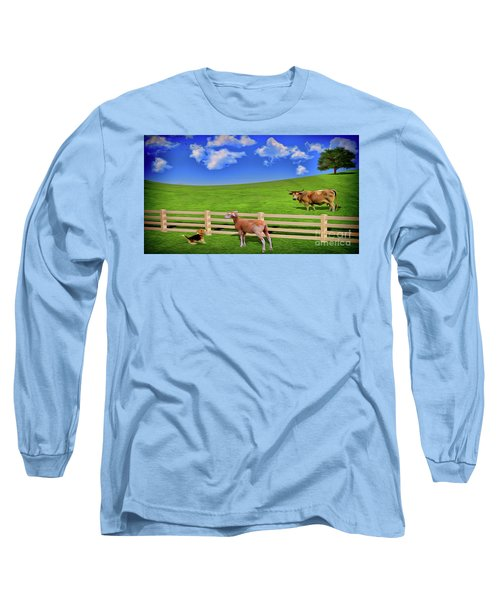 A Field Long Sleeve T-Shirt