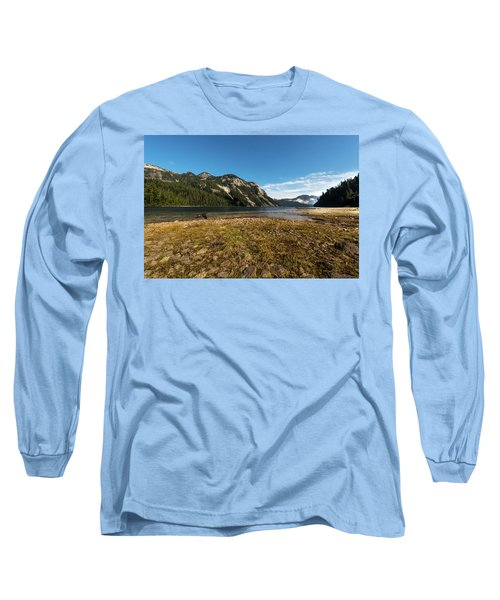 A Lake In The Mountains Long Sleeve T-Shirt