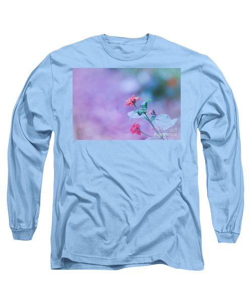 A Little Softness, A Little Color - Macro Flowers Long Sleeve T-Shirt