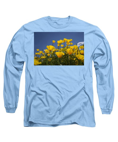 A Little Sunshine  Long Sleeve T-Shirt by Lucinda Walter