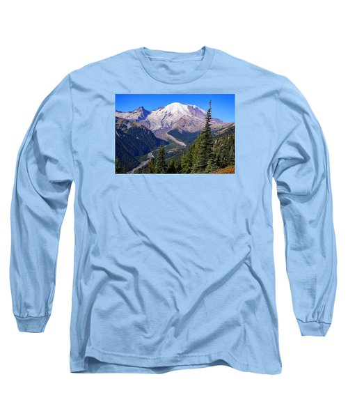 Long Sleeve T-Shirt featuring the photograph A Morning View by Lynn Hopwood