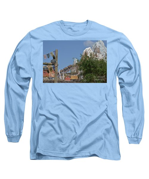 Long Sleeve T-Shirt featuring the photograph A Mountain Of Fun by Carol  Bradley