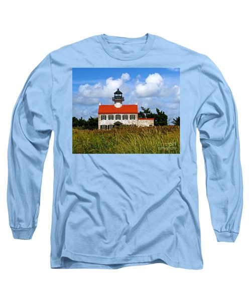 Long Sleeve T-Shirt featuring the photograph A New Day At East Point Light by Nancy Patterson