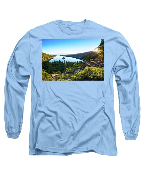 A New Day Over Emerald Bay Long Sleeve T-Shirt