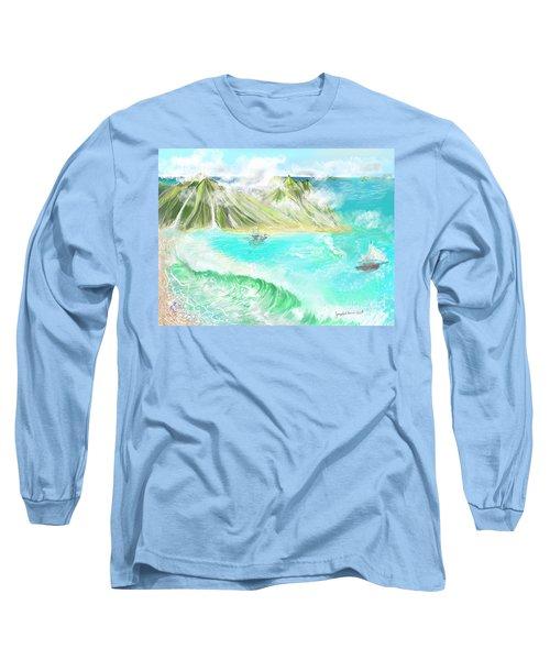A Ocean Some Where Long Sleeve T-Shirt