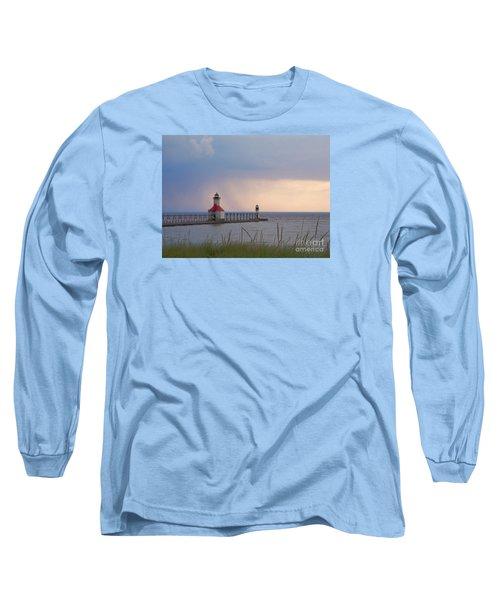 A Quiet Wonder Long Sleeve T-Shirt by Ann Horn