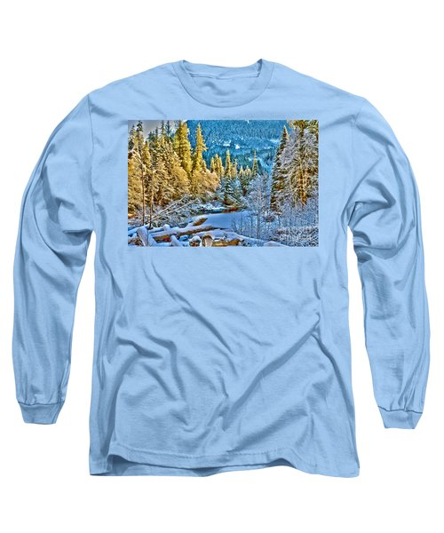 A River Runs Down It Long Sleeve T-Shirt