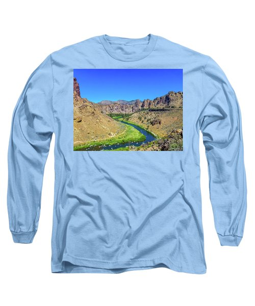 A River Runs Through Long Sleeve T-Shirt
