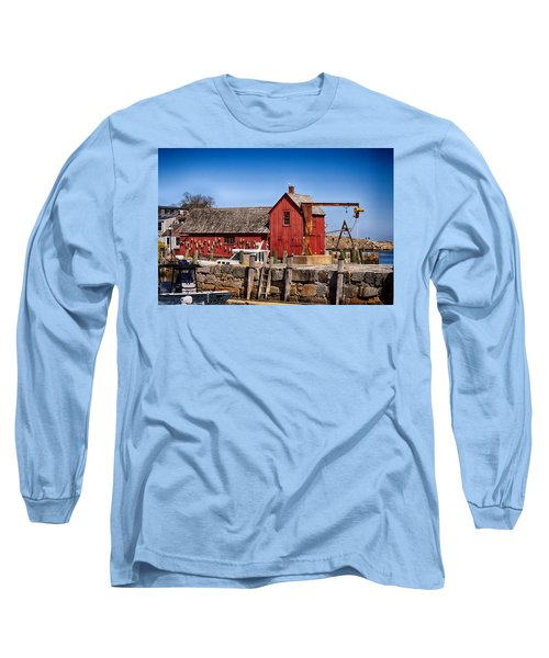A Rockport Favorite Long Sleeve T-Shirt by Tricia Marchlik