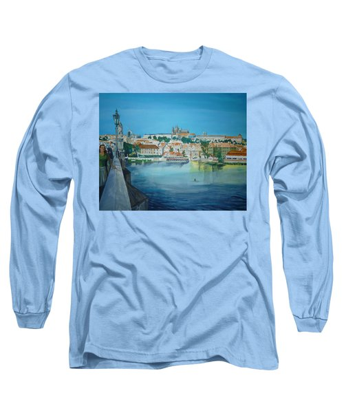 A Scene In Prague 3 Long Sleeve T-Shirt