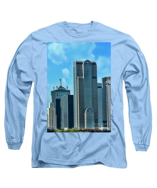 A Slice Of Dallas Long Sleeve T-Shirt