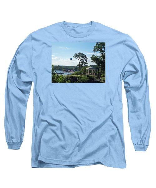 Long Sleeve T-Shirt featuring the photograph A Summer Day by Lyric Lucas