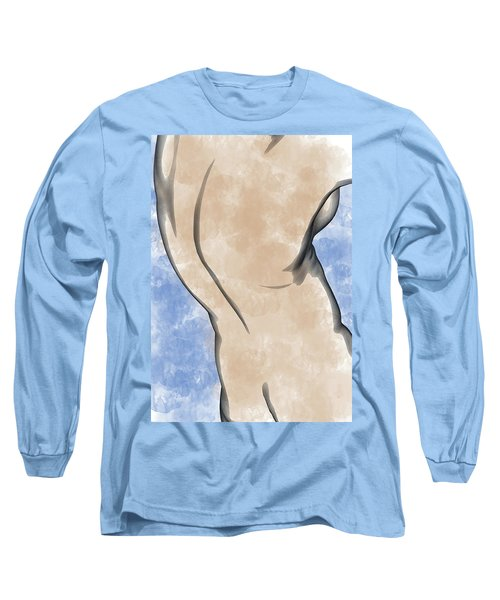 A Torso Long Sleeve T-Shirt by Peter J Sucy