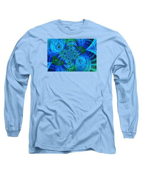 A Walk In The Gallery Long Sleeve T-Shirt by Chad and Stacey Hall