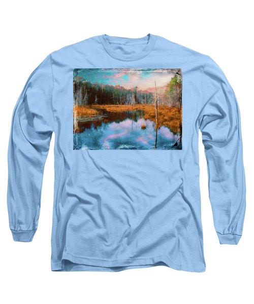 A Wilderness Marsh Long Sleeve T-Shirt
