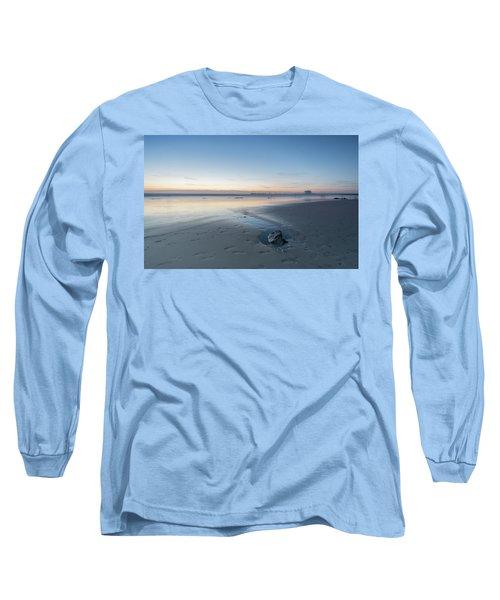 A Wonderfull Sunset.. And A Rock Long Sleeve T-Shirt