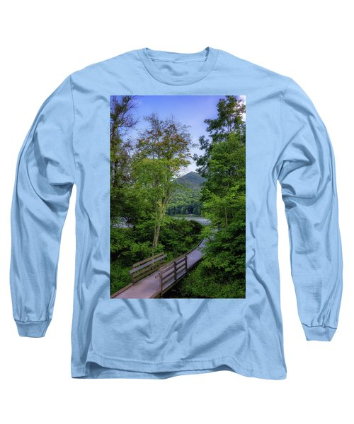 Abbott Lake Trail Long Sleeve T-Shirt