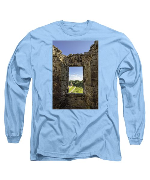 Long Sleeve T-Shirt featuring the photograph Aberdour Castle by Jeremy Lavender Photography