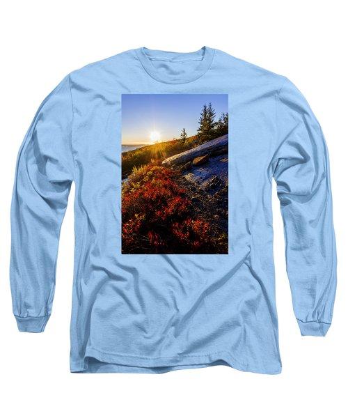 Above Bar Harbor Long Sleeve T-Shirt