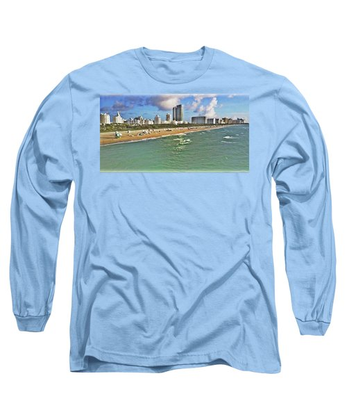 Above South Beach  Long Sleeve T-Shirt
