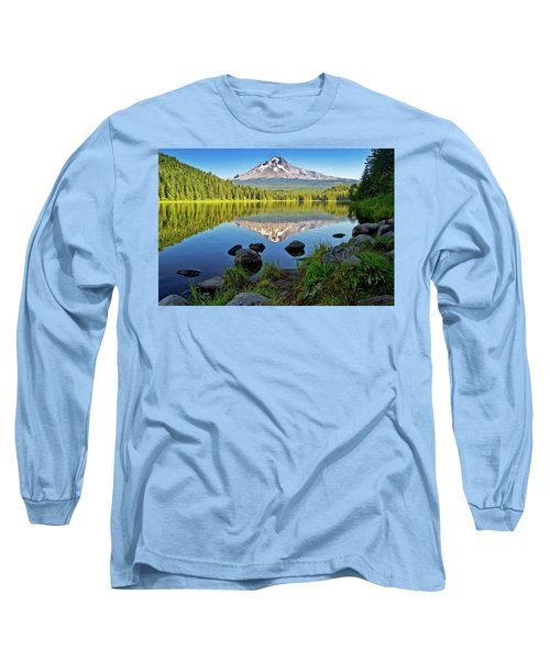 Above The Lake Long Sleeve T-Shirt
