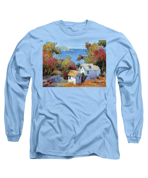 Above The Pacific Long Sleeve T-Shirt