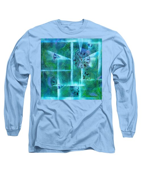 Abstract Art - Time Fragments Long Sleeve T-Shirt
