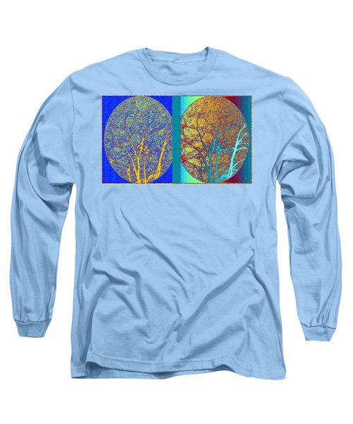 Long Sleeve T-Shirt featuring the digital art Abstract Fusion 276 by Will Borden