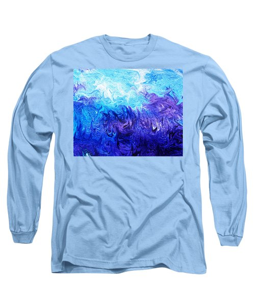 Abstract Ocean Fantasy Five Long Sleeve T-Shirt