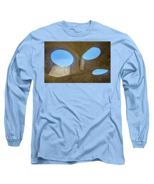 Abstract Of The Roof Long Sleeve T-Shirt by Gary Slawsky