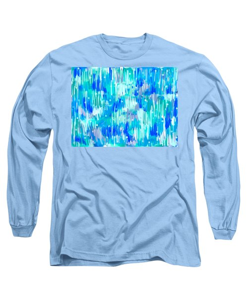 Abstract Winter Long Sleeve T-Shirt