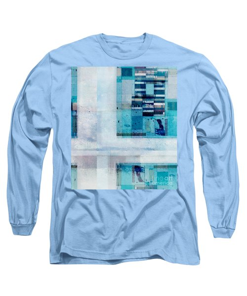 Long Sleeve T-Shirt featuring the digital art Abstractitude - C02v by Variance Collections