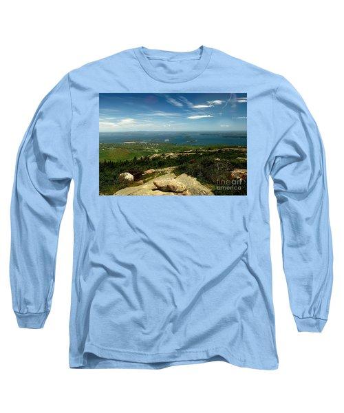 Long Sleeve T-Shirt featuring the photograph Acadia by Raymond Earley
