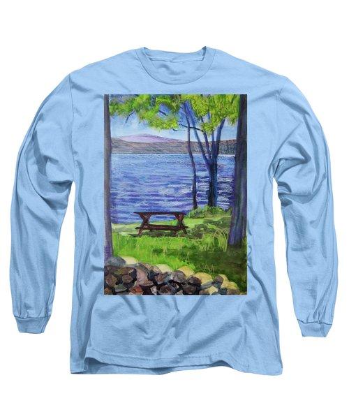 Adirondack Picnic Spot Long Sleeve T-Shirt