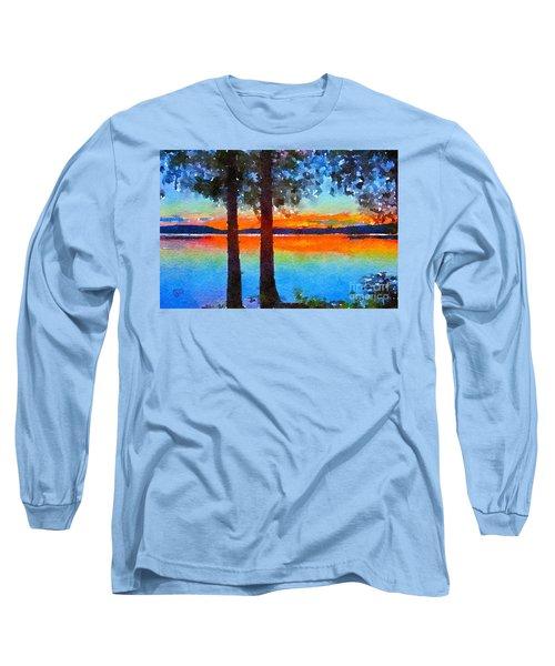 Adirondack Sunset Long Sleeve T-Shirt